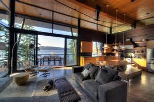 modern log home interiors property s morning obsession exquisite modern log cabin