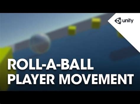 unity tutorial player movement unity moving the player