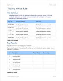 Testplan Template by Testplan Template How To Write The Test Plan Document For