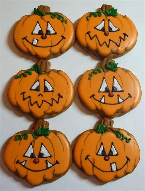 pumpkin cookies decorating 25 best ideas about pumpkin faces pictures on