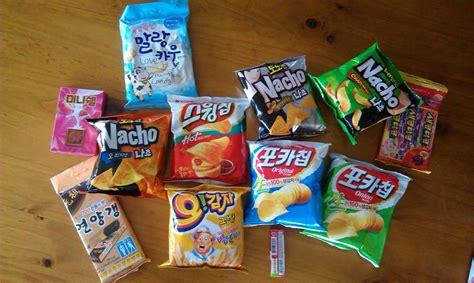 Korean Snack korean snacks with from korea