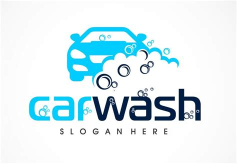 Carwash Logo картинки Car Wash Logo Template Free