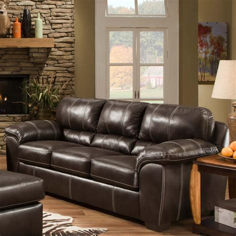 american recliners american furniture 5400 casual sofa with comfortable