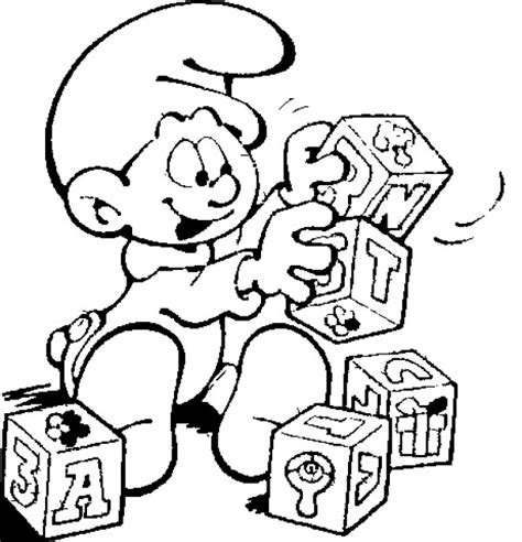 coloring book runtime free smurf coloring pages for technosamrat