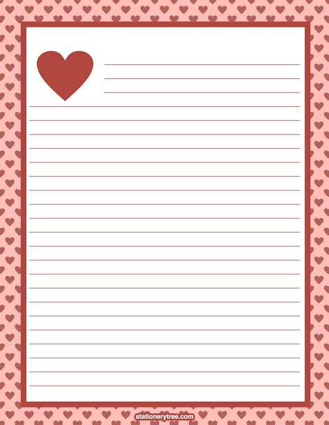valentines day writing paper search results for writing paper with border