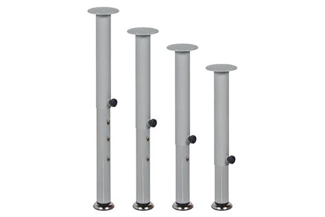 Adjustable Height Dura Table Legs Grocare New Zealand Adjustable Desk Legs