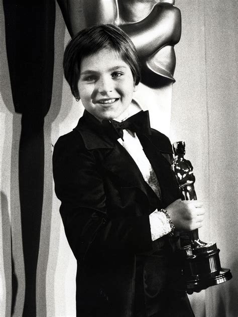 Tatum Oneal Blames It All On by Academy Awards Youngest Oscar Nominees