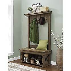 Entryway Shoe And Coat Storage Entryway Tree With Storage Bench Home Office Coat