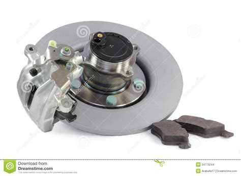 auto brake parts auto parts brakes stock images image 34773244