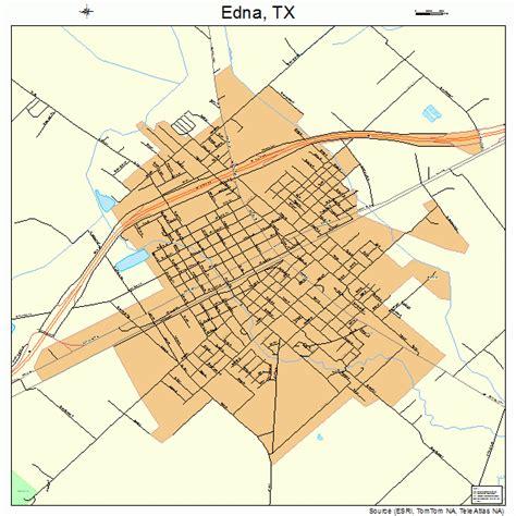 edna texas map edna texas map 4822720