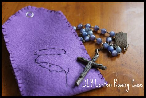 rosary quiet book pattern 31 crafts for mary do small things with great love
