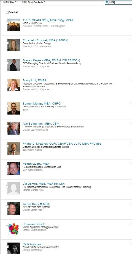Mba Profiles Linkedin by What Doesn T Work On Linkedin Recruitingblogs
