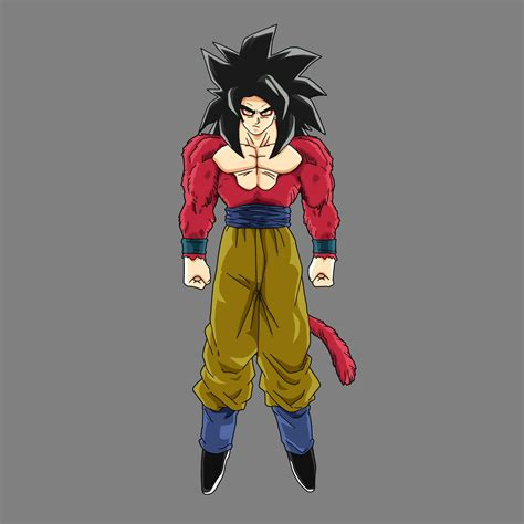goku ss4 goku ssj4 by drozdoo on deviantart