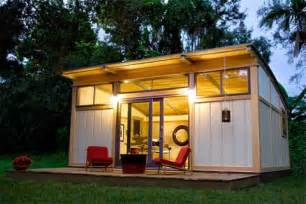 Backyard Cottages Florida by Interview Cabin Fever Prefab Design Amp Construction News
