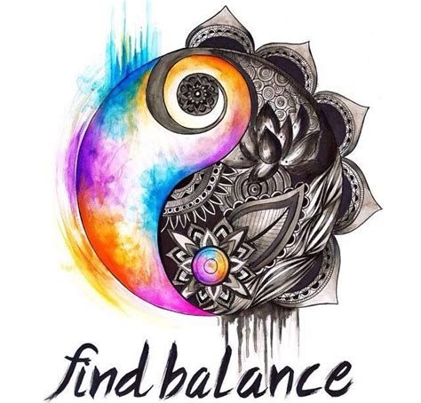 Balance Water Floras Your Travels best 20 yin yang tattoos ideas on yin yang