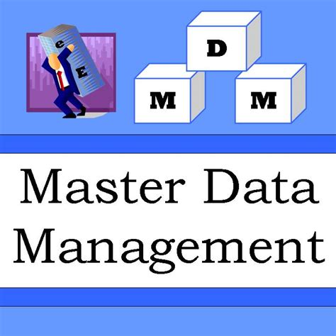master data management the quot big e quot and quot little e quot of master data management
