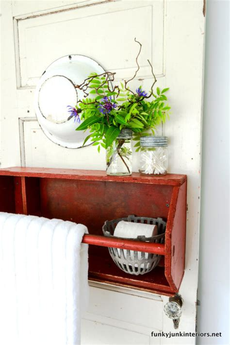 upcycled storage ideas for your bathroom ebay