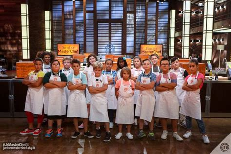 2016 junior masterchef junior masterchef italia 2016 concorrenti