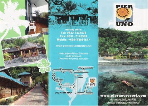 pier uno cebu travel central philippines brochure pier uno resort