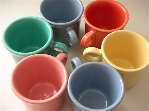 Fiestaware L by 6 Mugs Assorted Colors Fiestaware Tom Jerry Mugs Set