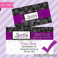 scentsy business cards scentsy business card diy printable by simply sprinkled