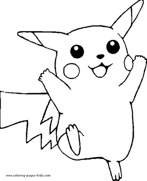 coloring pages for pokemon characters pokemon coloring pages quot pikachu
