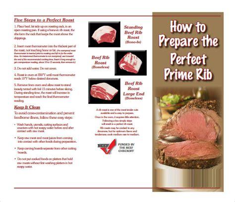prime rib temperature chart sle prime rib temperature chart 5 documents in pdf