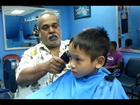 teknik baru gunting rambut di india doovi