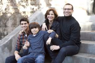 family pictures book family portrait author r j palacio and family