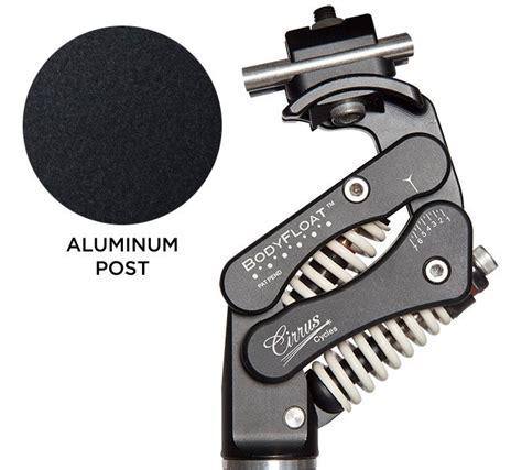 haggetts aluminum post highlights haggetts aluminum cirrus bodyfloat aluminum seatpost cycle monkey