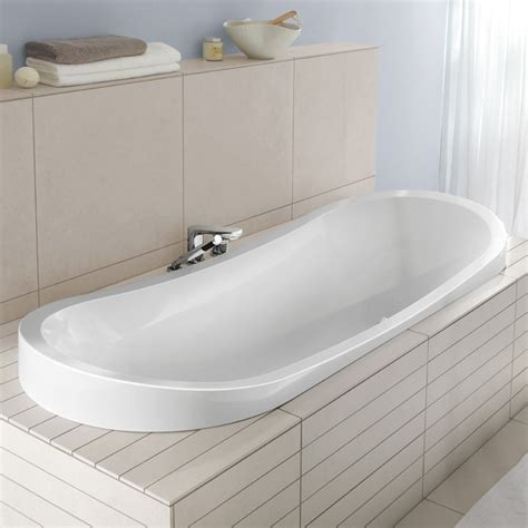 badewannen villeroy boch villeroy boch my nature duo oval bath white