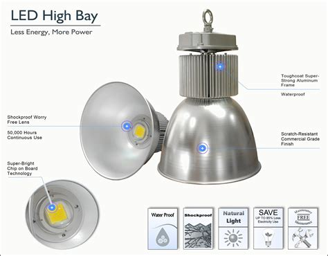 Led High Bay 200w megabay led high bay lights daylight white light 5000 5500k ul enpower
