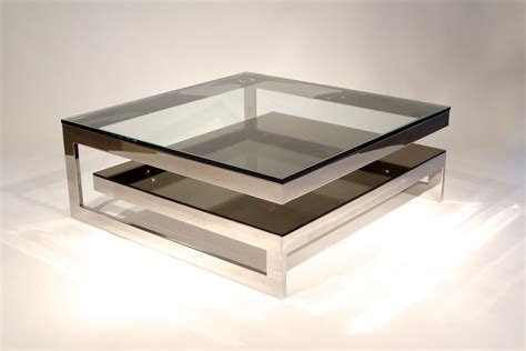 modern mirrored coffee table amazing two tier contemporary mirrored coffee table glass