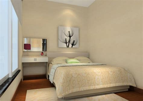simple interior design interior design of simple bed 3d house