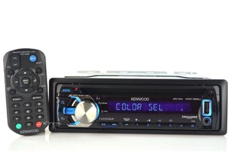 kenwood kdc 355u car stereo mp3 cd receiver with pandora
