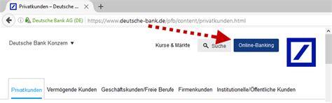 deutsche bank log mein deutsche bank login sicher zum db banking