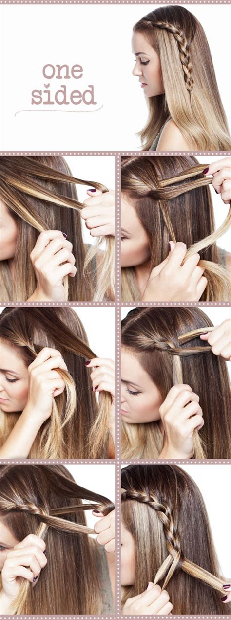 easiest type of diy hair braiding easy to do braid hairstyles yourself