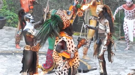 crazy mayan sacrifice ritual in xcaret youtube
