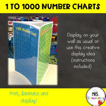 number charts numbers   posters   strawberry