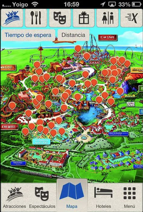 reservar entradas port aventura mapas interactivos y geolocalizaci 243 n para disfrutar en