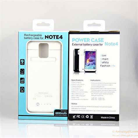Power Bank Samsung Note 4 new arrival 4200mah back clip power bank for samsung note