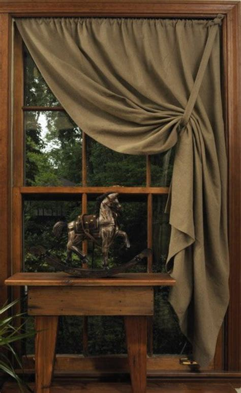 side curtains side swept curtain for the home pinterest