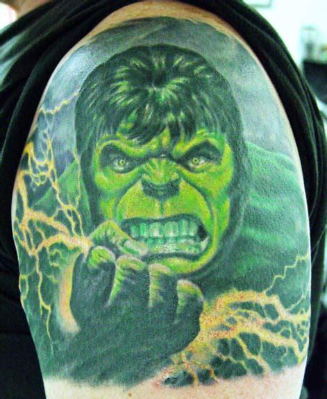 incredible hulk tattoo designs designs on shoulder