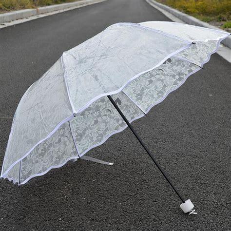 Gamis Umbrella Bubblepop High Quality 32 high quality transparent white umbrella clear paraguas non automatic three