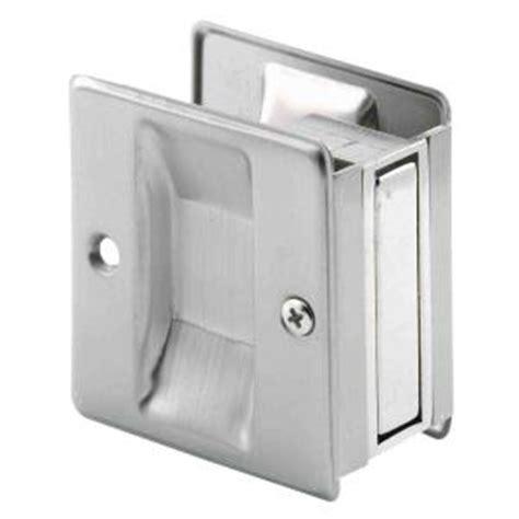 Pocket Door Home Depot by Prime Line Satin Nickel Pocket Door Pull Handle N 7238