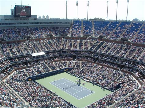 us open seating capacity top 30 largest tennis stadiums by capacity