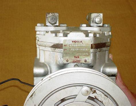 sell vintage york borg warner air condition pump gm