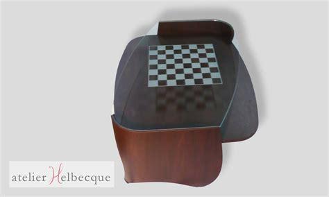 Table Basse échiquier by Table Basse Design Portfolio Tag Atelier Helbecque 94