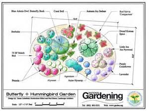 Hummingbird Garden Layout New Jersey Garden