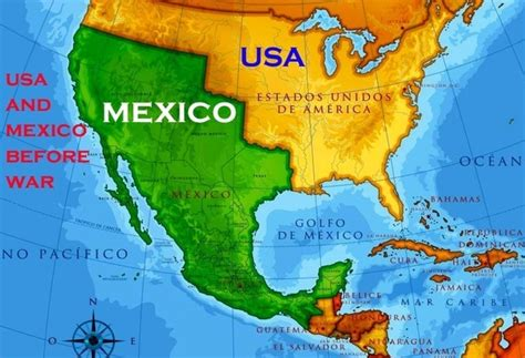map us before mexican war why did the mexican american war begin quora